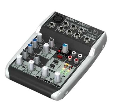 Behringer Xenyx Q502USB Audio Mixer