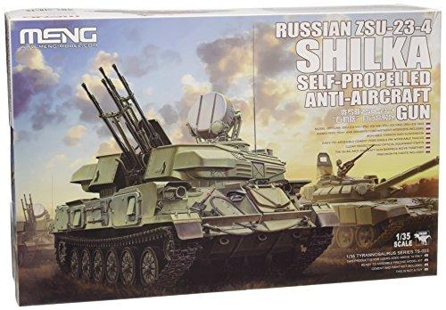 Meng Model 1:35 - Zsu-23-4shilka Anti-aircraft -