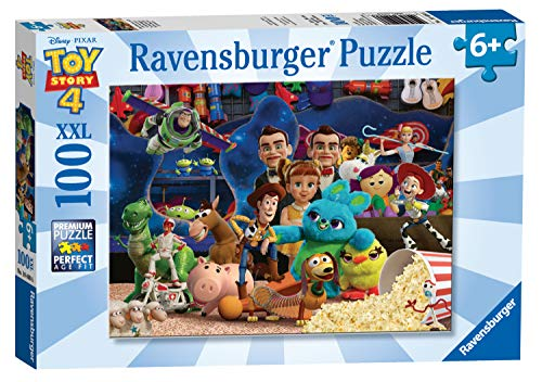 Ravensburger 10408 Disney Pixar Toy Story 4-100 Piece Jigsaw Puzzle for Kids - Every Piece is Unique - Pieces Fit Together Perfectly (Puzzle Ravensburger Disney)
