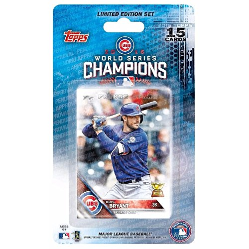Topps Chicago Cubs 2016 Baseball World Series Champions Limited Edition Set
