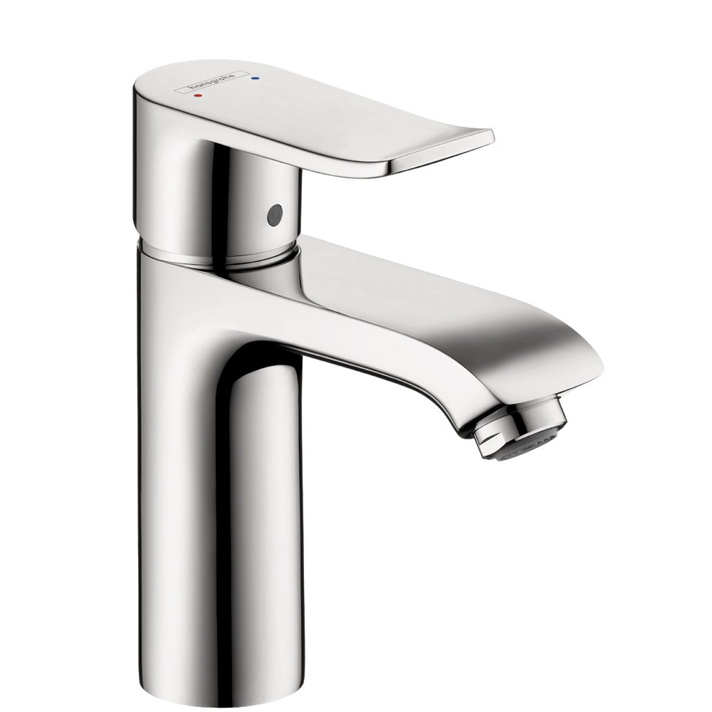 Hansgrohe 31080001 Metris 110 Single-Hole Faucet, Chrome - Bathroom ...