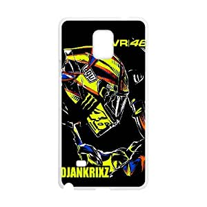 Samsung Galaxy Note 4 Valentino Rossi pattern design Phone Case