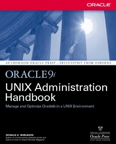 Download Oracle9i UNIX Administration Handbook (Oracle Press) Pdf