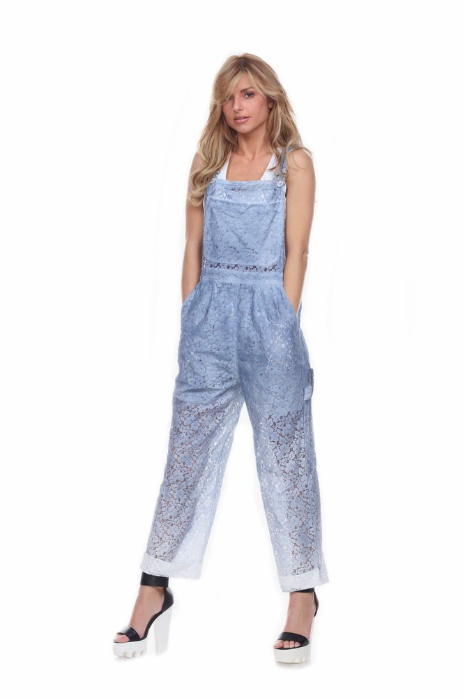 Women's Lace Overalls (Small)