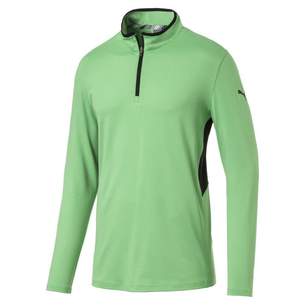 Puma Golf Men's 2019 Rotation 1/4 Zip, Irish Green, 3X-Large