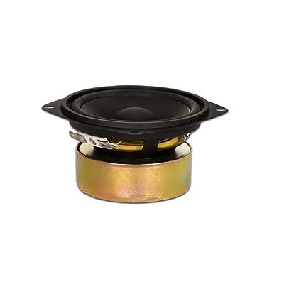 "Goldwood Sound GW-204/8S Shielded 4"" Woofer 70 Watt 8ohm Replacement Speaker,Black: Electronics"