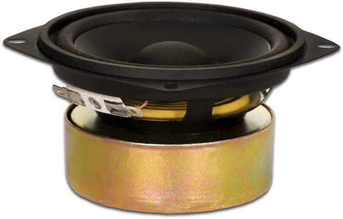 "Goldwood Sound GW-204/8S Shielded 4"" Woofer 70 Watt 8ohm Replacement Speaker"