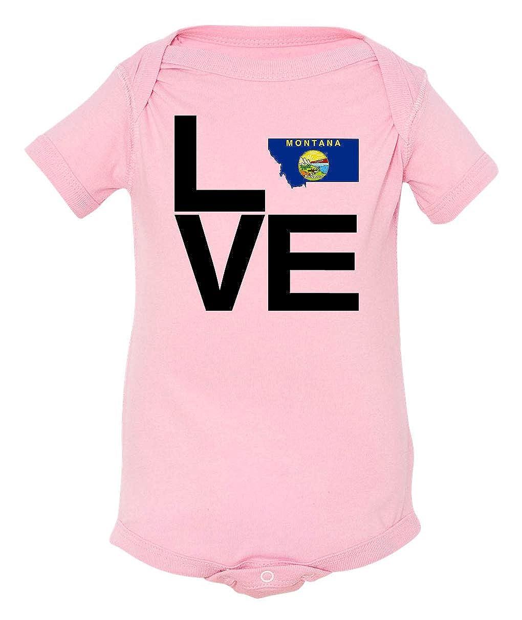 Tenacitee Babys Love Montana Shirt