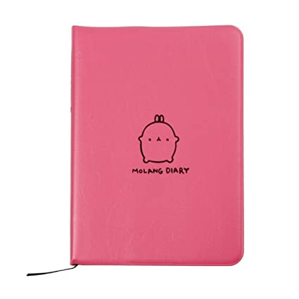 Agenda semanal y planificador diario, bonito anotador, de WINWINTOM, color hot pink