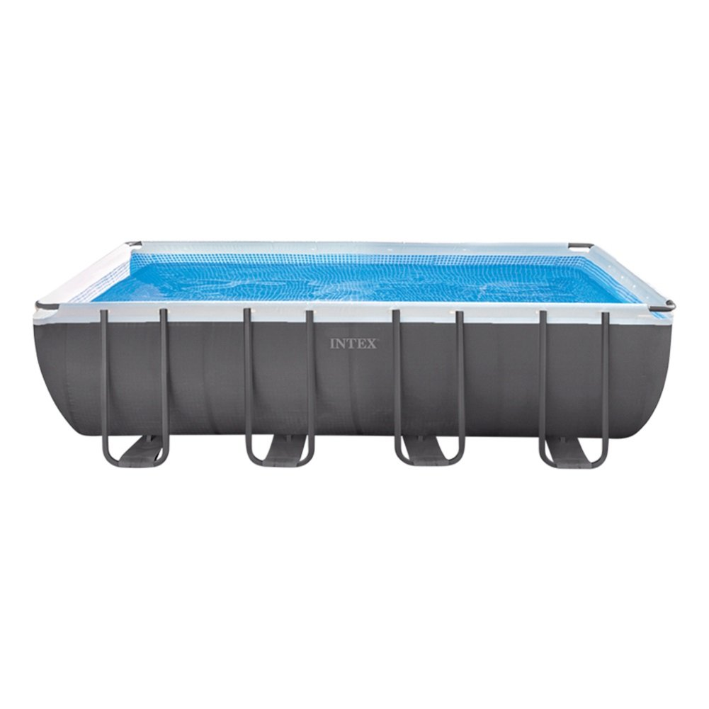 Intex Ultra Frame Piscina Desmontable, 17.203 l, Gris, 549 x 274 x ...