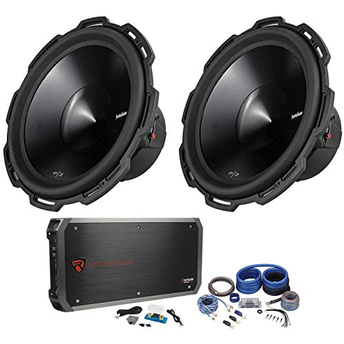 (Package: (2) Rockford Fosgate Punch P3D4-15 15