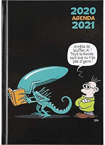 Oberthur   1 Agenda Scolaire Collection   Humour Illustré   Août