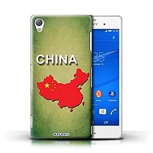 Kobalt® protector duro de nuevo caso / cubierta para el Sony Xperia Z3 | China/chino Diseño | Naciones bandera colección