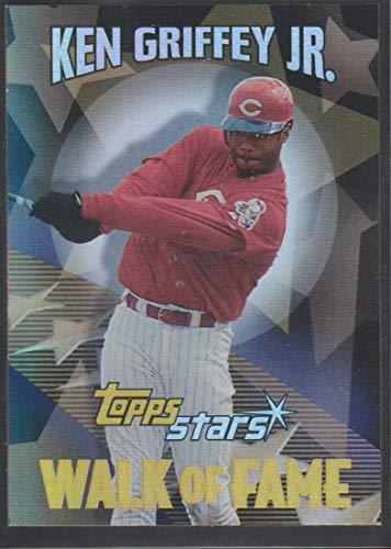 2000 Topps Stars Ken Griffey Jr. Reds Walk of Fame Insert Baseball Card #WF2