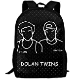Best GENERIC Friend Lunch Boxes - Dolan Twins Fashion Backpack College School Laptop Bag Review