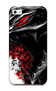 Premium ZUjLJKy9293sdxfz Case With Scratch-resistant/ Berserk Case Cover For Iphone 5c