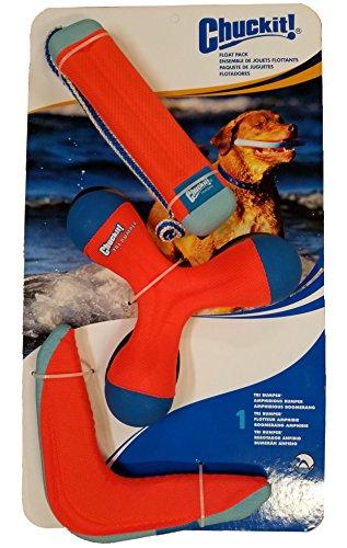 Chuckit Tri Pack Bumper Amphibious Boomerang