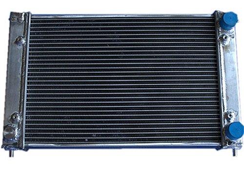 Radiator Aluminum Manual Performance (OPL HPR044 Aluminum Radiator For Volkswagen MK1 (Manual Transmission))