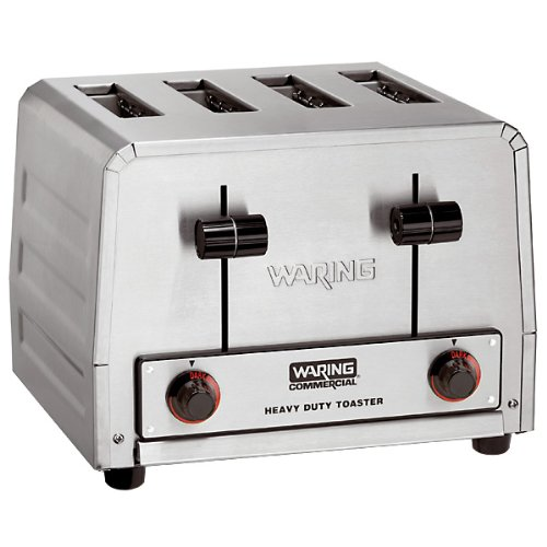 Commercial Four (Waring  (WCT800) Four-Compartment Standard Pop-Up Toaster)