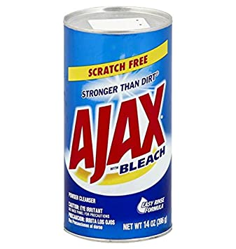 Ajax Powder Cleanser with Bleach  14 oz  396 g. Amazon com  Ajax Powder Cleanser with Bleach  14 oz  396 g
