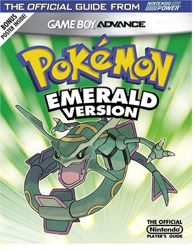 Major Strategy Guide - Official Nintendo Pokemon Emerald Player's Guide