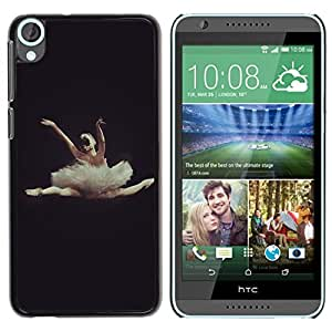 LOVE FOR HTC Desire 820 Dance Ballet Dancer Black Woman Personalized Design Custom DIY Case Cover