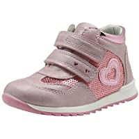 Apakowa Toddler Girls Strap Light Up Sneakers Girls Boots with Arch Support (Color : Pink, Size : 9 M US Toddler)