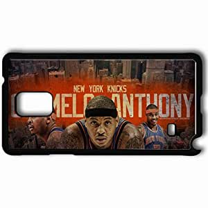 Personalized Samsung Note 4 Cell phone Case/Cover Skin 14731 knicks wp 48 sm Black hjbrhga1544