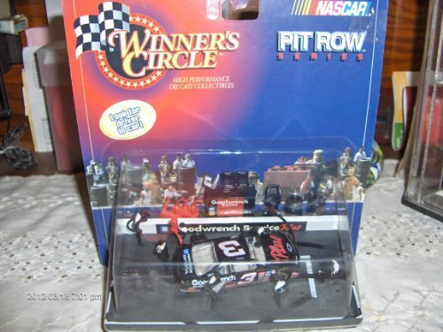 Winner's Circle Nascar Pit Row Series Diecast Dale Earnhardt #3 Diorama (Nascar Pit)