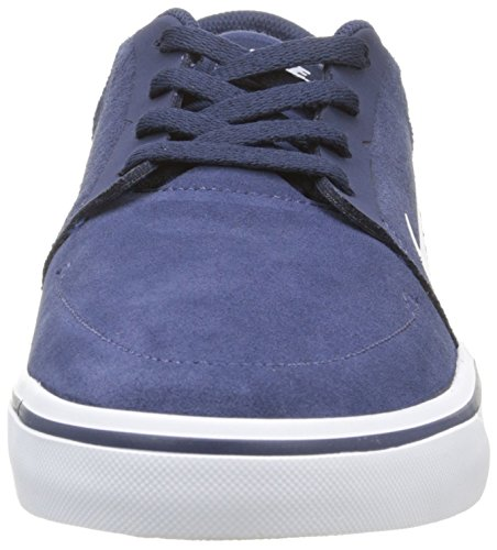 White Navy Bleu gm Chaussures Portmore Nike De mid Skateboard Hommes Pour Lght Sb Blanc Brwn 0Svnwq7pP