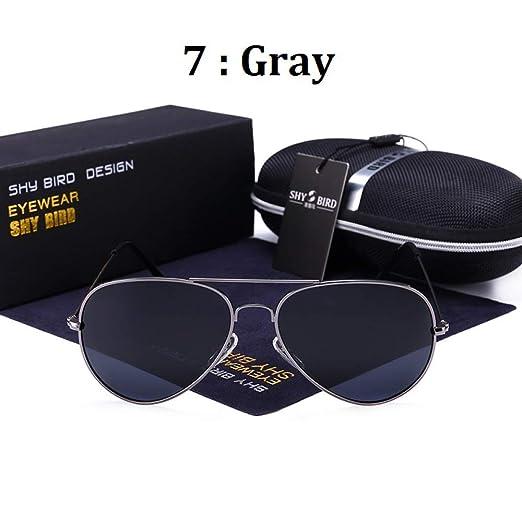 Yangjing-hl Gafas de Sol Gafas de Sol para Hombres y Mujeres Gafas ...