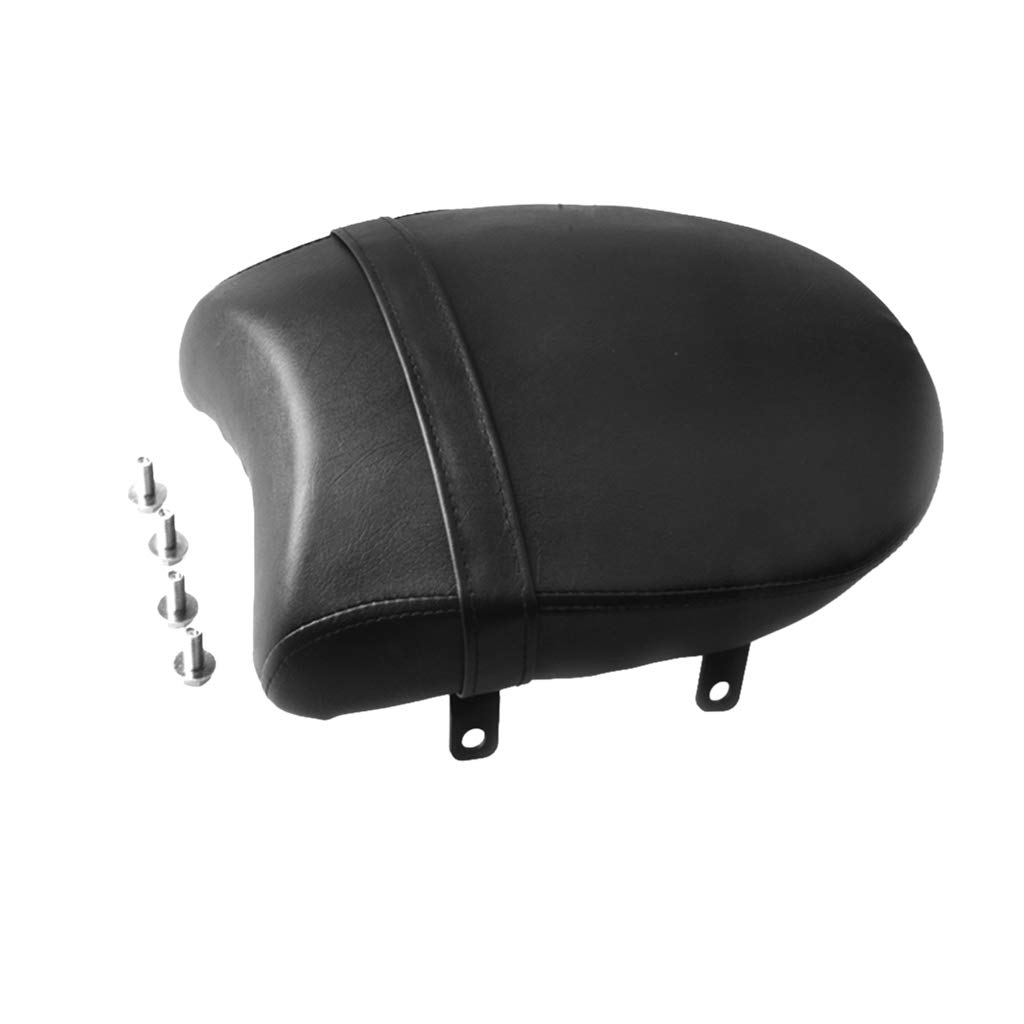 MagiDeal Motorcycle Leather Rear Passenger Pillion Pad Seat for Victory Kingpin 2004-2013