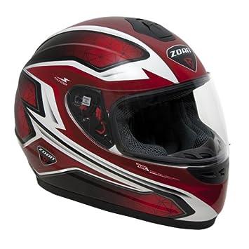 Zoan Thunder Electra gráfico rojo eléctrico lente nieve casco de equitación Youth Medium
