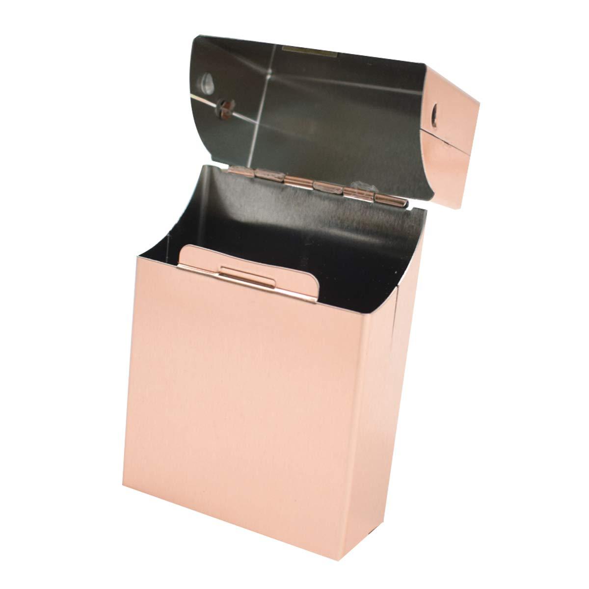 Zigarettenetui 3 Stück Metall Zigarettenkasten für 20 Zigaretten Zigarettenbox