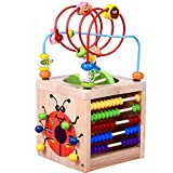 Best Bead Mazes - Multifunction Bead Maze, Amagoing 6-in-1 Wooden Cube Activity Review
