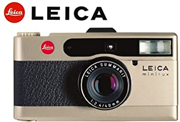 Amazon.com : Leica Minilux 35mm Camera : Point And Shoot Film ...