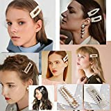 Warmfits Pearl Hair Clips 5pcs Elegant Hair Pins