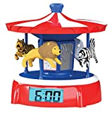 Sleepyhead Animated Alarm Clock - Carousel Medley