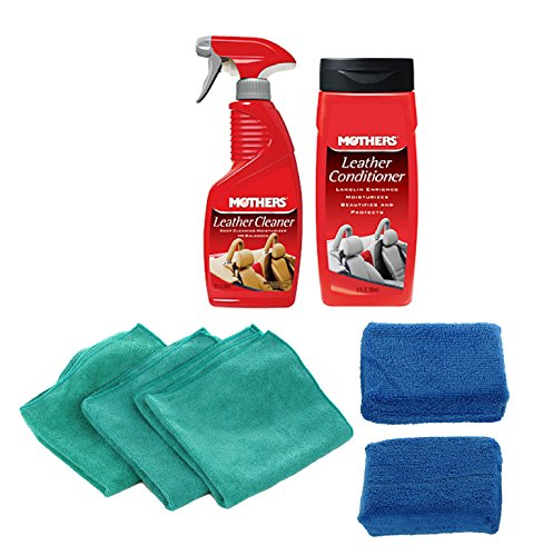 Leather Care Cleaning Kit - Mothers - Mothers Leather Conditioner