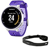 Garmin Forerunner 230 GPS Running Watch Purple Strike (010-03717-41) with Heart Rate Monitor