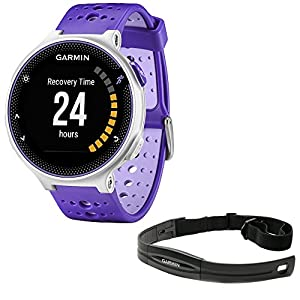Beach Camera Garmin Forerunner 230 GPS Running Watch Purple Strike (010 03717 41) with Heart Rate Monitor