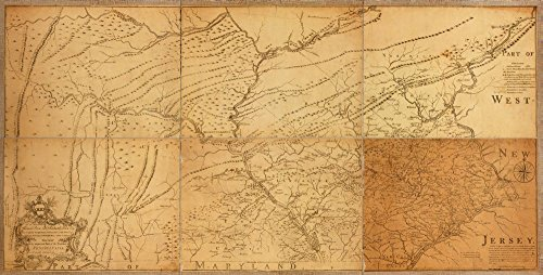 - Vintage 1759 Map of the Honourable Thomas Penn and Richard Penn, Esqrs., true & absolute proprietaries & Governours of the Province of Pennsylvania & counties of New-Castle, Kent & Sussex on Delaware this map of the improved part of the Province of Pennsylvania. Pennsylvania, United States