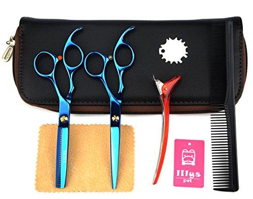 """LILYS PET 6.0"""" Professional Barber Razor Edge sakura Hair..."""