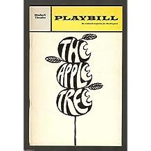 "Alan Alda ""THE APPLE TREE"" Sue Ane Langdon / Hal Linden 1967 Closing Playbill"