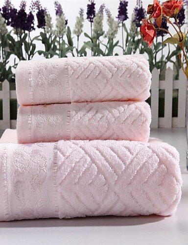 Bo @ de baño Juego de toallas de mano – 100% algodón – bordado,