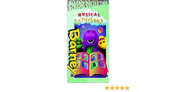 Amazon Barney Musical Scrapbook Vhs Barney Movies Tv