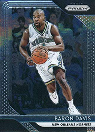 Amazon.com  2018-19 Panini Prizm Basketball  215 Baron Davis New Orleans  Hornets Official NBA Trading Card  Collectibles   Fine Art 0c42c5590