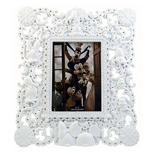 Disney Parks Exclusive Hidden Character Mickey Gang 5x7 Inch Glass Picture Photo Frame