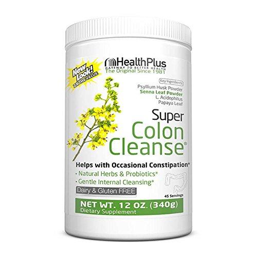 Health Plus Super Colon Cleanse: 10-Day Cleanse -Detox   More than 1