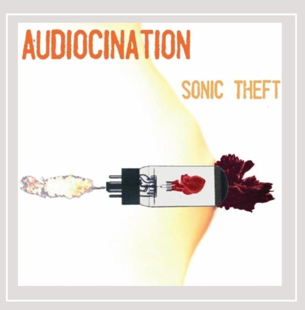 CD : Audiocination - Sonic Theft (CD)